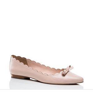 Kate Spade Blush Eleni Flex Scalloped Ballet Flat